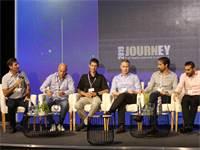 """משמאל לימין: רובי חן מיונדאי, איל מילר, יובל בהרב, יאיר שניר, איתי פרישמן, טוני סיף וגרהם סטוקהוייזן / צילום: שאולי לנדנר, יח""""צ"""