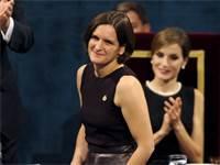 הכלכלנית זוכת פרס הנובל אסתר דופלו / צילום: Eloy Alonso, רויטרס