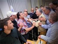 עימותים בישיבת ההסתדרות / צילום: שלומי יוסף