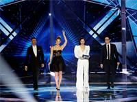 מנחי האירוויזיון בחצי הגמר השני / צילום: REUTERS/Ronen Zvulun