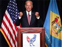 סגן הנשיא לשעבר, ג'ו ביידן / צילום: REUTERS/Jonathan Ernst