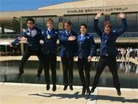 נבחרת ישראל האולימפית הצעירה בפיזיקה / צילום: מרכז מדעני העתיד
