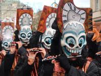 מצעד תחפושות בקרנבל של באזל / צילום: רוני ערן