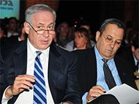 אהוד ברק ובנימין נתניהו  / צילום: תמר מצפי