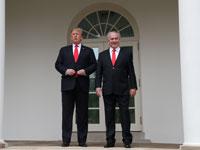 בנימין נתניהו ודונלד טראמפ / צילום: רויטרס Leah Millis