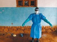 בית חולים בקונגו בו שהה חולה באבולה בדצמבר / צילום: רויטרס / GORAN TOMASEVIC