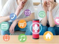 הרמקולים החכמים ניצבים בחזית הטכנולוגיה צילום:  Shutterstock/ א.ס.א.פ קריאייטיב