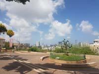 נוף לגוש דן ממצפור שלום./ צילום: שלומית צור