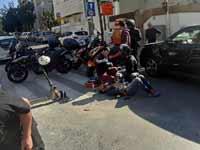 תאונת קורקינט  בתל אבי ב / צילום: יחצ
