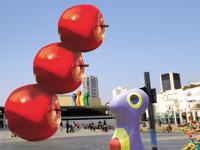 פסלים של סטודיו 16 גיל שדה דוד גרשטיין / צילומים סטודיו 16 מתוך ויקיפדיה -יאיר טלמור