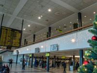 תור לבידוק הביטחוני בנמל התעופה בברלין / צילום:  Shutterstock א.ס.א.פ קריאייטיב