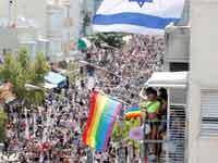 מצעד הגאווה בתל אביב/ צילום:רויטרס