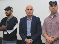 אפי נוה בדיון על הארכת מעצרו/ צילום: קוקו - ישראל היום
