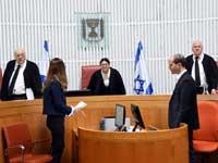 """שופטי בג""""ץ פוגלמן (מימין), חיות ומלצר, / צילום: ברני ארדוב, וואלה!"""