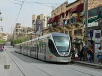 הרכבת הקלה בירושלים/ צילום : תמר מצפי
