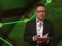 אריק לי/ צילום מסך מהרצאה של לי ביוטיוב