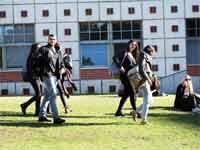 סטודנטים באוניברסיטת תל אביב/ צילום: איל יצהר