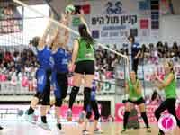 משחק בליגת הכדורשת/ צילום: ליאב פלד