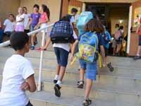 פתיחת שנת הלימודים./  צילום:תמר מצפי