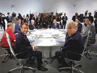 אוגוסט. ,G7 מנהיגי העולם בכנס באוגוסט / צילום: רויטרס Philippe Wojazer