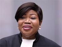 התובעת הראשית בבית הדין הפלילי הבינלאומי בהאג, פאטו בנסודה / צילום: רויטרס
