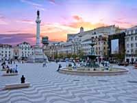 כיכר רוסיו בליסבון/ צילום:  Shutterstock/ א.ס.א.פ קריאייטיב