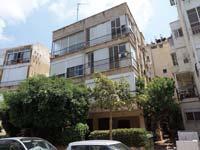 """הבניין ברחוב בר כוכבא בת""""א, שבו אחת הדירות במחלוקת /  צילום: איל יצהר"""
