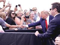 הנשיא טראמפ בפלורידה / צילום:  Shutterstock/ א.ס.א.פ קריאייטיב