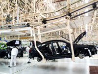 מפעל של חברת הונדה./  צילום: Shutterstock א.ס.א.פ קריאייטיב