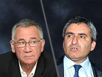 """משה פדלון - ראש העיר הרצליה, ח""""כ זאב אלקין / צילום: איל יצהר, תמר מצפי"""