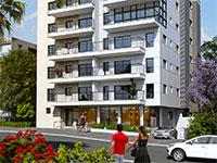 """רחוב קק""""ל, בניין 27א, בשכונת בורוכוב בגבעתיים / הדמיה: יחצ"""