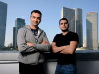 איציק לוי, אורי בורנשטיין, צמד המייסדים של הסטארט-אפ Whitestream / צילום: איל יצהר