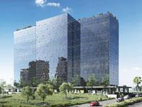 הדמיית הבנין ברעננה / צילום: פלג אדריכלים