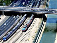 רכבת ישראל, נתיבי איילון - תל אביב / צילום: איל יצהר