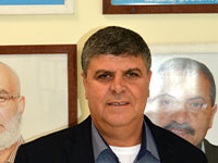 סמיר מחאמיד, ראש עירית אום אל פאחם / צילום: גיל ארבל