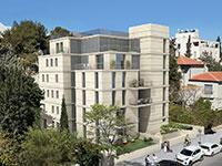 """בניין ברחוב הפלמ""""ח 48, ירושלים / הדמיה: יחצ"""
