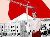 בועד ישראל ופרויקט הבניה Museum Residence / צילום: איל יצהר, עיבוד: טלי בוגדנובסקי