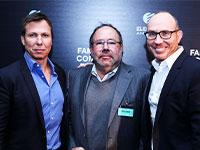דני זלקינד, ג'ו לובק ומייקי זלקינד / צילום: רותם להב