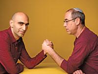 קלמן ליבסקינד ואסף ליברמן \ צילום: יונתן בלום