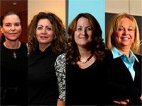 עפרה שטראוס, אסתר אלדן, אורית לרר, עזריאלי דנה  /צילום: סיון פרג', תמר מצפי, איל יצהר
