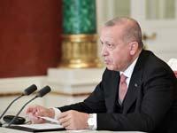 ארדואן: אין שלום בתוך טורקיה ואין שלום מחוץ לה