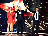 קובי מרימי בגמר הכוכב הבא לאירוויזיון / צילום: רונן אקרמן