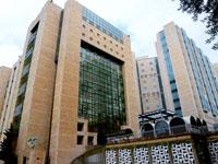בית חולים הדסה עין כרם מגדל אישפוז ירושלים  / צלם: איל יצהר