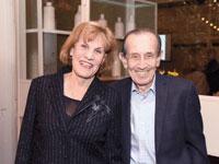 יהושע וגליה מאור / צילום: אוהד הרכס ואיתי בלסון, מכון ויצמן למדע