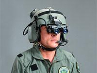 קסדה לטייסי מסוקים של אלביט מערכות / צילום: אלביט מערכות