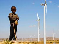 חוות טחנות רוח באשגולה, אתיופיה/ צילום:רויטרס Kumerra Gemechu