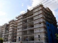 בניין שעובר חיזוק ושיפוץ תמא 38/ צילום: פאול אורלייב