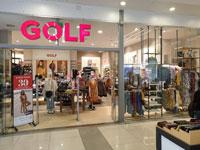 החנות של גולף בקניון הזהב./ צילום: פרטי