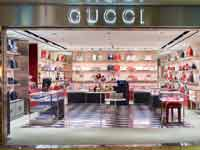 חנות גוצ'י בשדה התעופה צ'אנגי בסינגפור/ צילום:  Shutterstock/ א.ס.א.פ קריאייטיב
