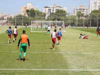 אימון במתחם חודורוב, מתקן האימונים של הפועל תל אביב בחולון / צילום: כדיה  לוי